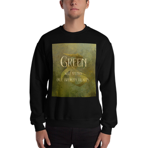 GREEN will mend our broken hearts. Shadowhunter Children's Rhyme Quote Unisex Sweatshirt - LitLifeCo.