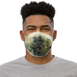 Guard your mortal heart. The Folk of the Air Premium Face Mask