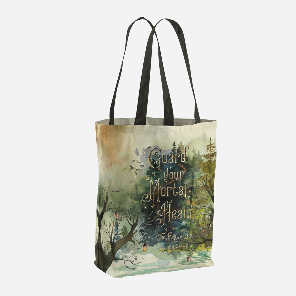 Guard your mortal heart. The Folk of the Air Tote Bag - LitLifeCo.