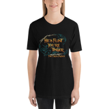 He's flint, you're tinder. The Cruel Prince Quote Unisex Short Sleeved Shirt