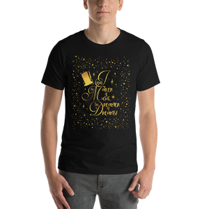 I am the maker of music... Charlie and the Chocolate Factory Quote Unisex Short Sleeved Shirt - LitLifeCo.
