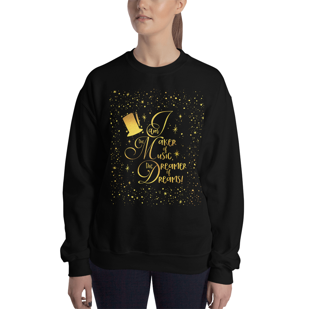 I am the maker of music... Charlie and the Chocolate Factory Quote Unisex Sweatshirt - LitLifeCo.