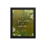 I am your master and you're mine. - Jamie Fraser. Outlander Quote Art Print
