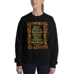 I can't go back to yesterday... Alice in Wonderland Quote Unisex Sweatshirt - LitLifeCo.