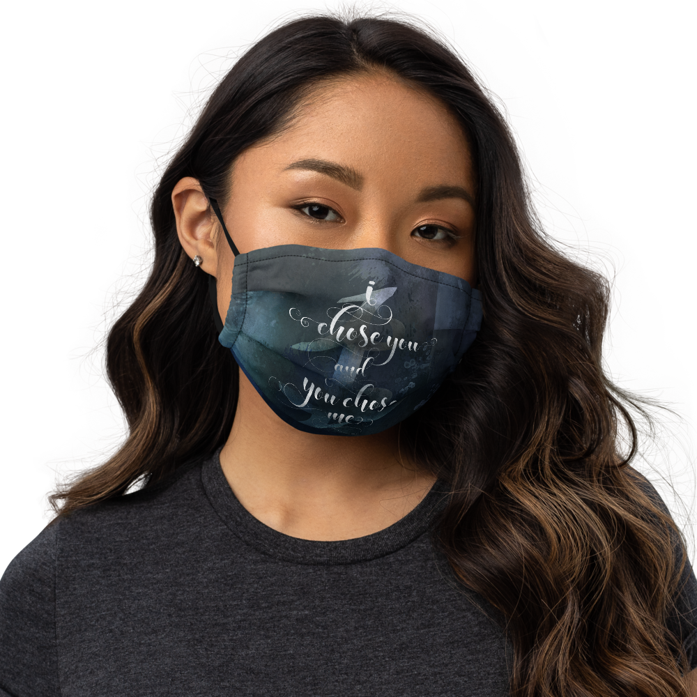 I chose you... Julian Blackthorn Premium Face Mask