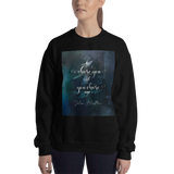 I chose you... Julian Blackthorn Quote Unisex Sweatshirt
