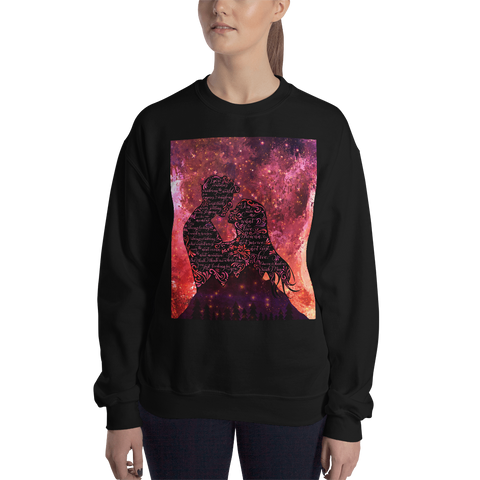 I spent centuries... Queen of Shadows (Throne of Glass Series) Quote Unisex Sweatshirt - LitLifeCo.