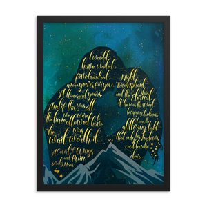 The wait was worth it. A Court of Wings and Ruin (ACOWAR) Quote Art Print - LitLifeCo.