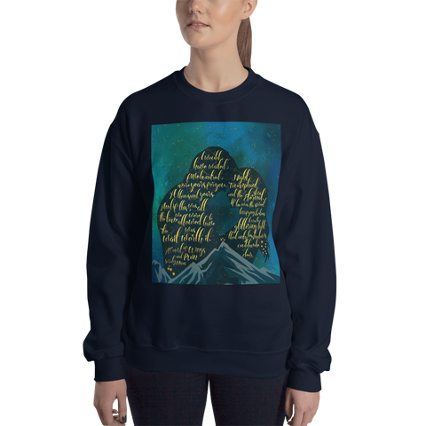 The wait was worth it. A Court of Wings and Ruin (ACOWAR) Quote Unisex Sweatshirt
