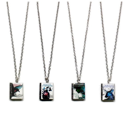 The Raven Cycle (The Raven Boys Series) Book Necklace - LitLifeCo.