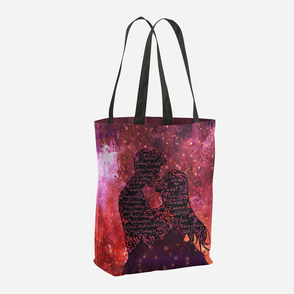 I spent centuries... Queen of Shadows (Throne of Glass Series) Quote Tote Bag