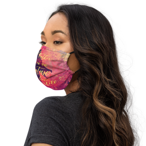 I'd rather die on an adventure... Lila Bard Premium Face Mask