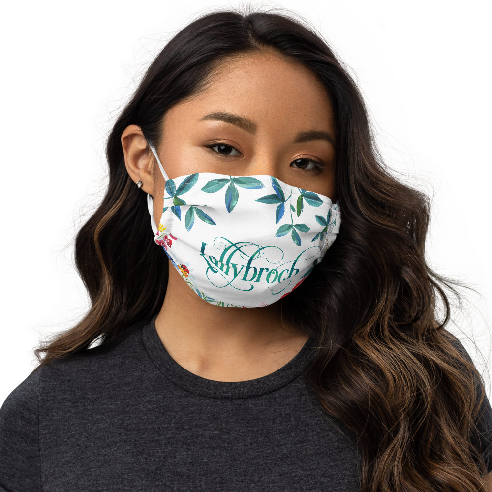 Lallybroch in Bloom Premium Face Mask