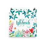 LALLYBROCH in Bloom Art Print - LitLifeCo.