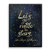 Let's go rattle the stars. Throne of Glass Art Print - LitLifeCo.