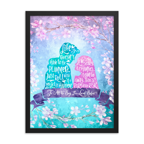 Life and Love According to Covinsky. To All the Boys I've Loved Before Quote Art Print