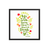 Anne of Green Gables Quote Art Print - LitLifeCo.