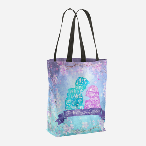 Life and Love According to Covinsky. To All the Boys I've Loved Before Quote Tote Bag - LitLifeCo.