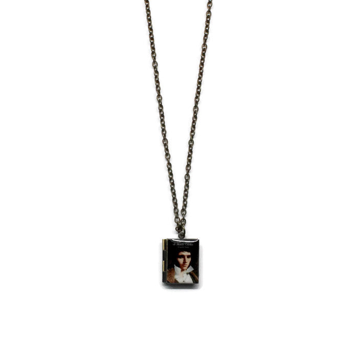The Count of Monte Cristo Book Necklace - LitLifeCo.