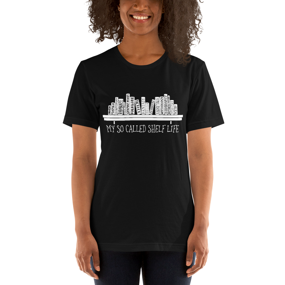 My So Called Shelf Life Unisex Short Sleeved Shirt - LitLifeCo.