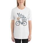 Not all those who wander... Lord of the Rings Quote Unisex Short Sleeved Shirt - LitLifeCo.