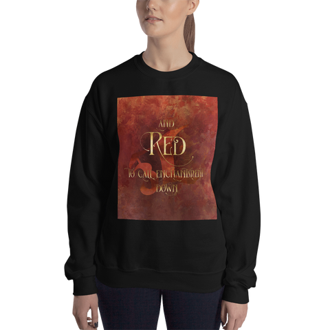 And RED to call enchantment down. Shadowhunter Children's Rhyme Quote Unisex Sweatshirt