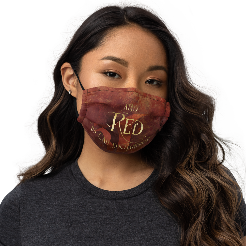 RED Shadowhunter Children's Rhyme Premium Face Mask