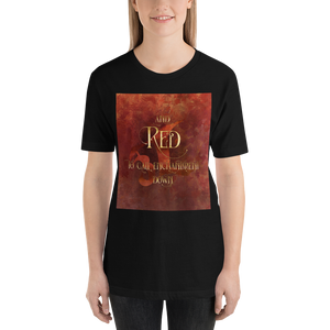 And RED to call enchantment down. Shadowhunter Children's Rhyme Quote Unisex Short Sleeved Shirt - LitLifeCo.