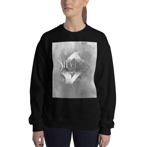 SILVER for the demon towers. Shadowhunter Children's Rhyme Quote Unisex Sweatshirt
