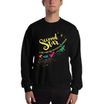 Second star to the right... Peter Pan Quote Unisex Sweatshirt - LitLifeCo.