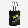 Second star to the right... Peter Pan Quote Tote Bag - LitLifeCo.