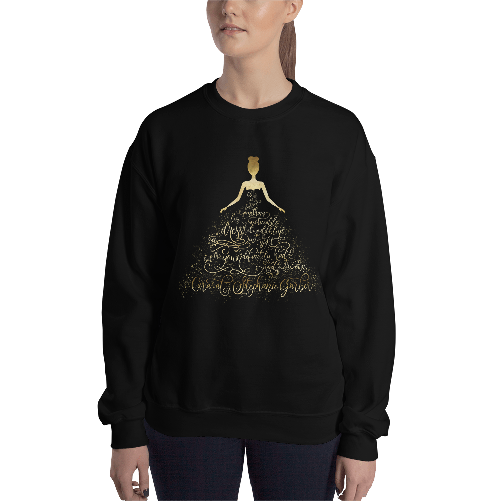 Scarlett's Enchanted Dress Unisex Sweatshirt - LitLifeCo.