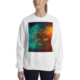 She is catalyst... Illuminae Quote Unisex Sweatshirt - LitLifeCo.