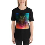 She was the heir of ash and fire... Heir of Fire (Throne of Glass Series) Quote Unisex Short Sleeved Shirt