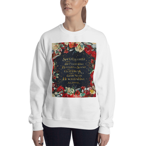 She'd laughed... Kaz Brekker Quote Unisex Sweatshirt - LitLifeCo.