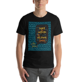 Sugar and caffeine... Percy Jackson Quote Unisex Short Sleeved Shirt - LitLifeCo.