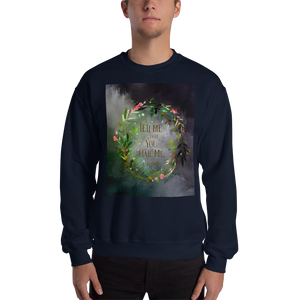 Tell me that you hate me. Cardan. The Wicked King Quote Unisex Sweatshirt - LitLifeCo.