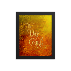 The Day Court Art Print - LitLifeCo.
