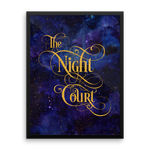 The Night Court Art Print - LitLifeCo.