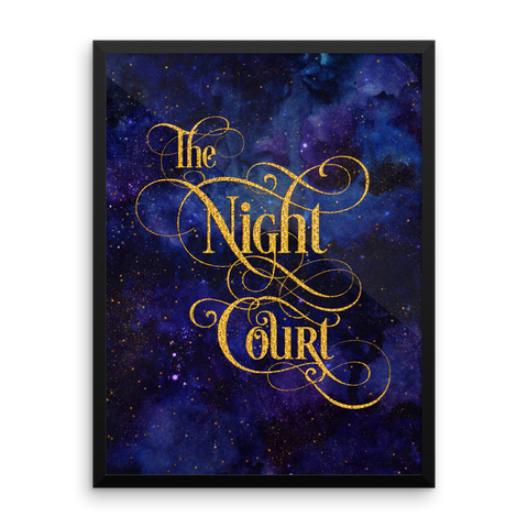 The Night Court Art Print