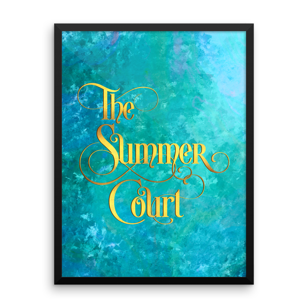 The Summer Court Art Print