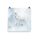 The Winter Court Art Print - LitLifeCo.
