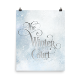 The Winter Court Art Print