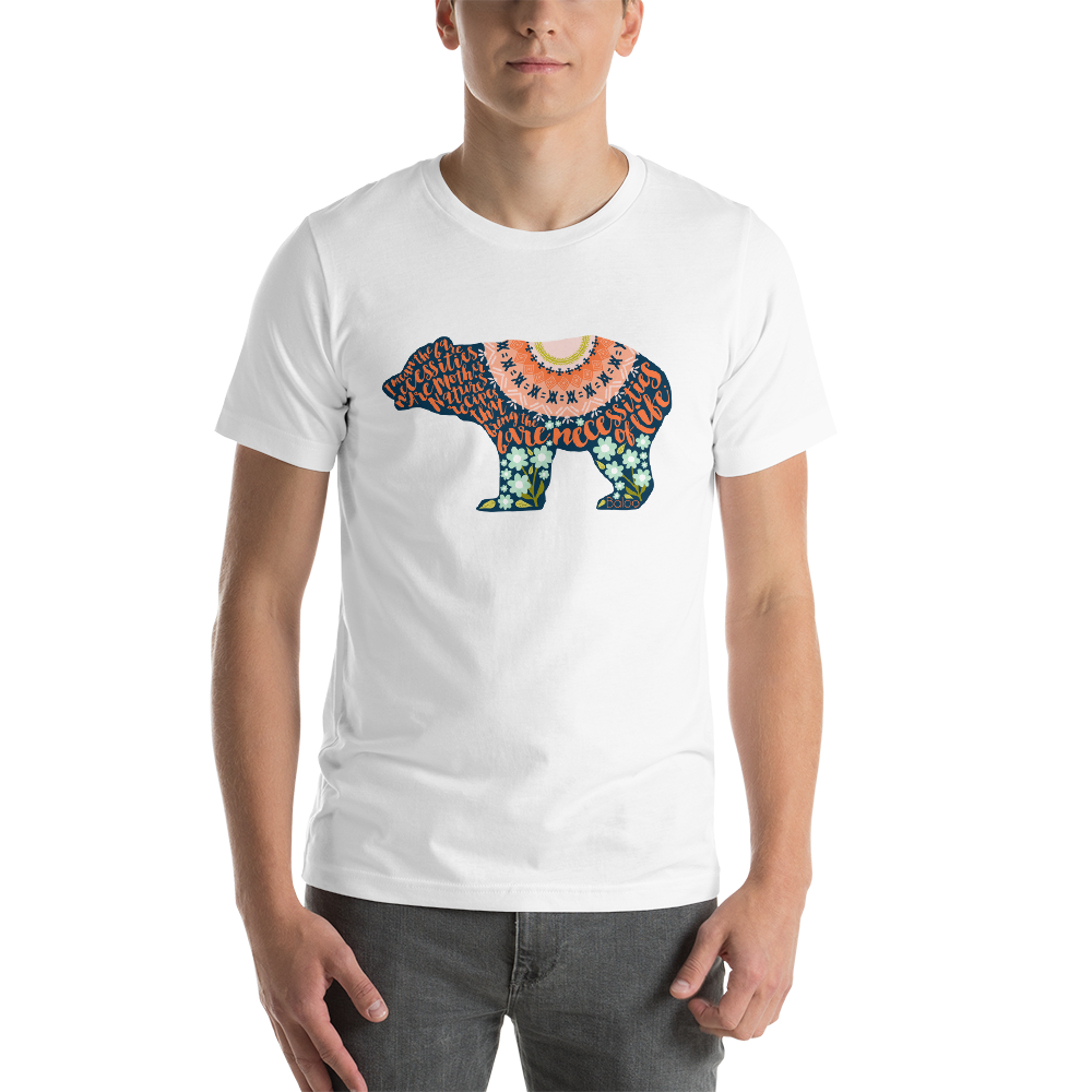 The Bear Necessities. The Jungle Book T-Shirt - LitLifeCo.
