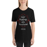 The finest of pleasures... The Night Circus Quote Unisex Short Sleeved Shirt