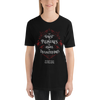 The finest of pleasures... The Night Circus Quote Unisex Short Sleeved Shirt - LitLifeCo.