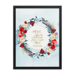 The heart is an arrow... Six of Crows Quote Art Print - LitLifeCo.