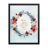 The heart is an arrow... Six of Crows Quote Art Print