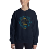 The library knows its own mind... Strange the Dreamer Quote Unisex Sweatshirt - LitLifeCo.