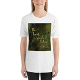 The trees speak Latin. The Raven Boys Quote Unisex Short Sleeved Shirt